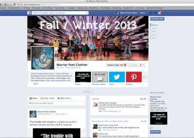 Warrior Poet Facebook Profile